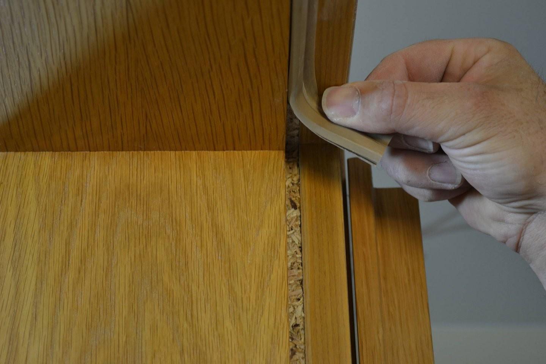 Türen  Türrahmen Streichen Anleitung  Tipps Alpina Lackieren von Kann Man Furnierte Türen Streichen Bild