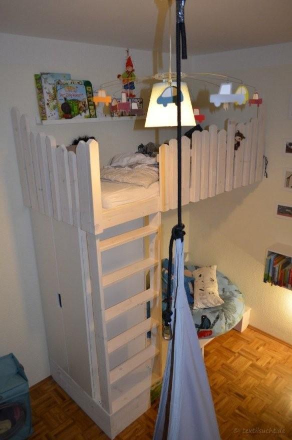 Tutorial Hochbett Selber Bauen  Loft Bed Kid  Hochbett Selber von Bett Rutsche Selber Bauen Photo