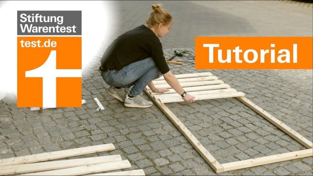 Tutorial Selbstbaulattenrost Besser Als 1000Eurokonkurrenz (Test von Lattenrost Elektrisch Stiftung Warentest Photo