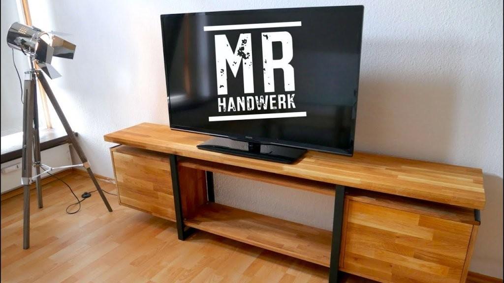 Tv Board Im Industrial Style Selber Bauen  Mrhandwerk  Youtube von Tv Möbel Selber Bauen Bild