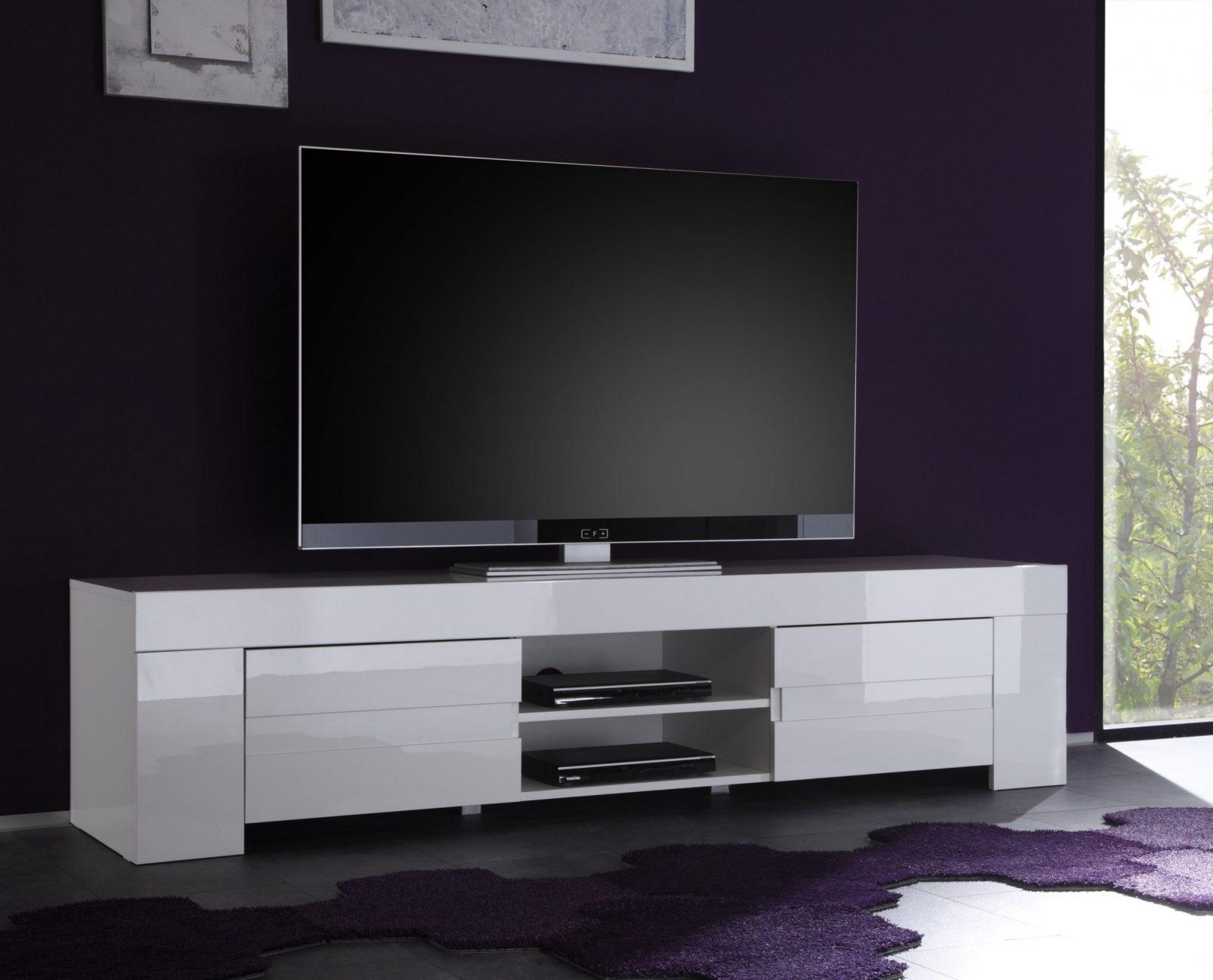 Tv Lowboards In Weiß von Tv Lowboard Weiß Hochglanz Hängend Bild