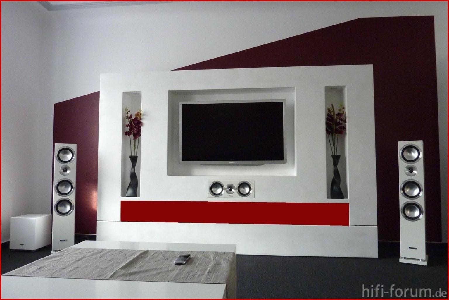 Tv Mediawand Frisch Zum Mediawand Selber Bauen Diy von Media Wand Selber Bauen Bild