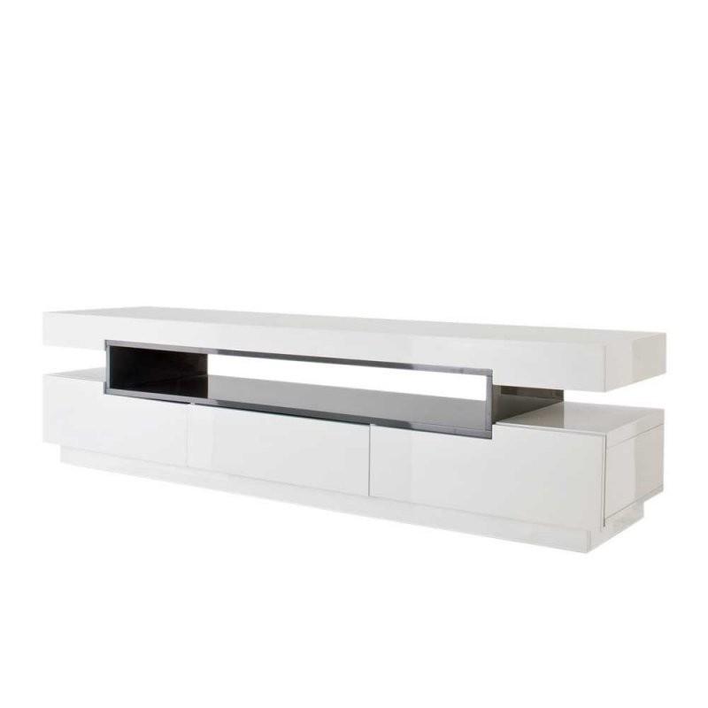 Tv Sideboard Laxie In Weiß Hochglanz 200 Cm Breit Wohnen von Sideboard Weiß Hochglanz 200 Cm Bild