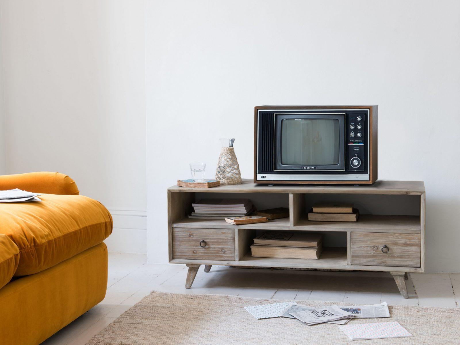Tv Ständer Große Eiche Tv Schrank Aus Massiver Eiche Tv Schrank von Tv Schrank Für Ecke Bild