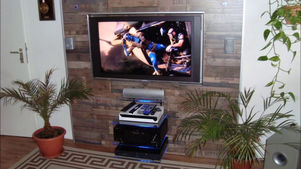 Tv Wand Selber Bauen Ganz Einfach  Youtube von Tv Wand Bauen Anleitung Bild