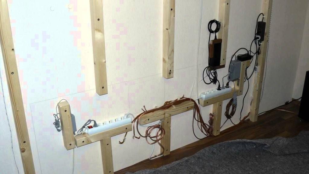 Tv Wand Selber Bauen Mit Logoclic Lamiwall  Тв  Wohnzimmer Tv Wand von Fernseher Wand Selber Bauen Photo