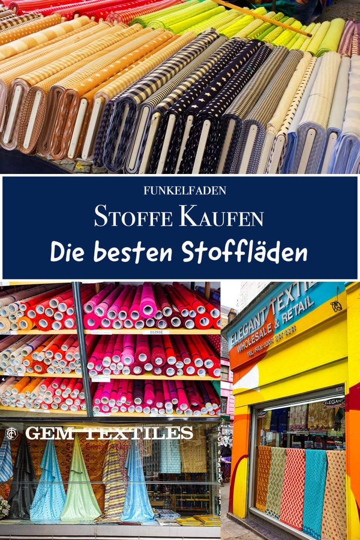 Übersicht  Stoffläden In Deutschland Und Europa Und Online von Stoffe Kaufen In Polen Photo