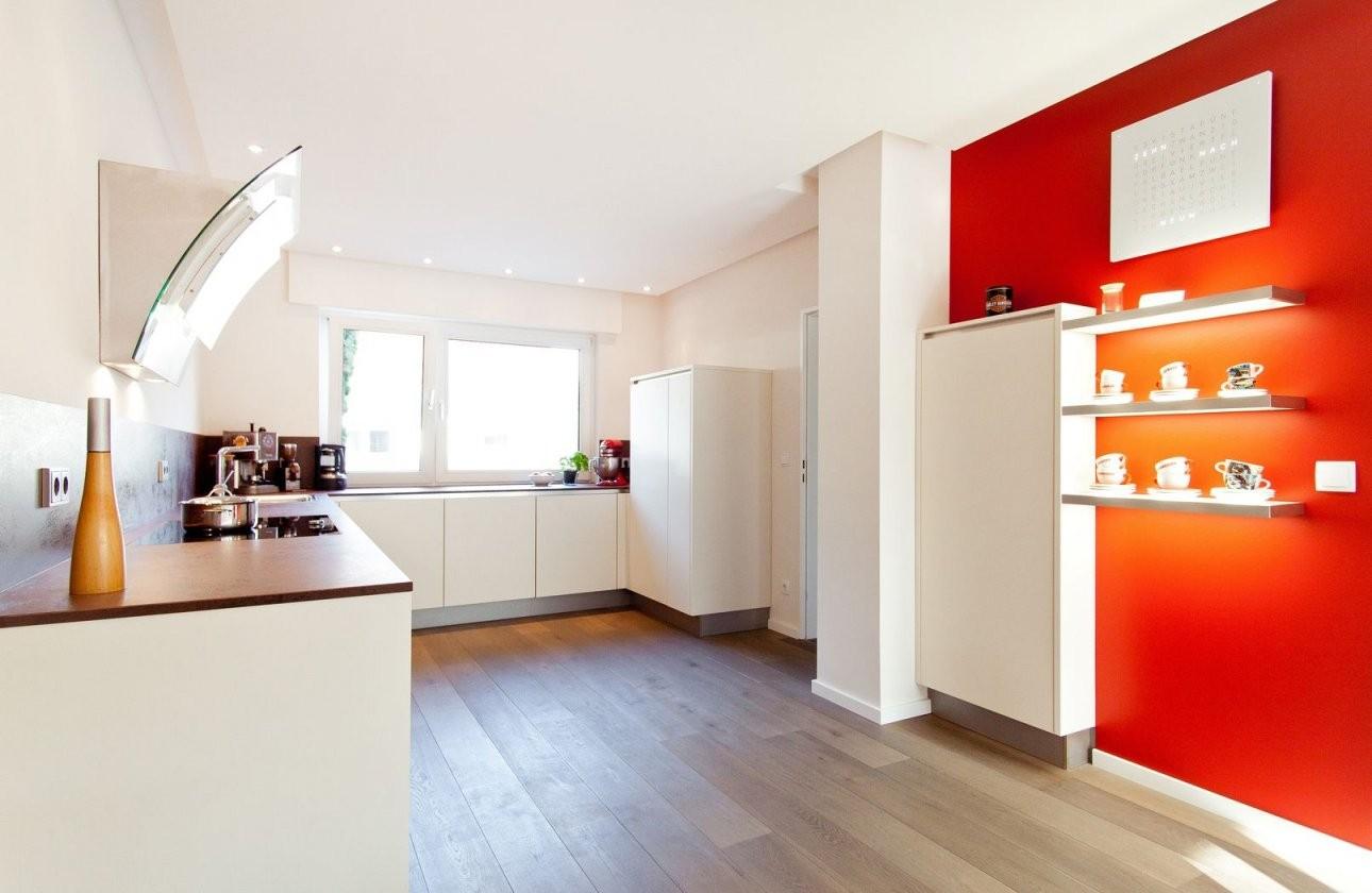 Uform Moderne Grifflose Küche Mit Keramik Arbeitsplatte von Küchen Modern U Form Bild