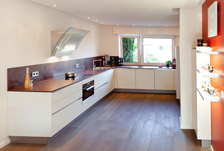 Uform Moderne Grifflose Küche Mit Keramik Arbeitsplatte von Küchen Modern U Form Photo