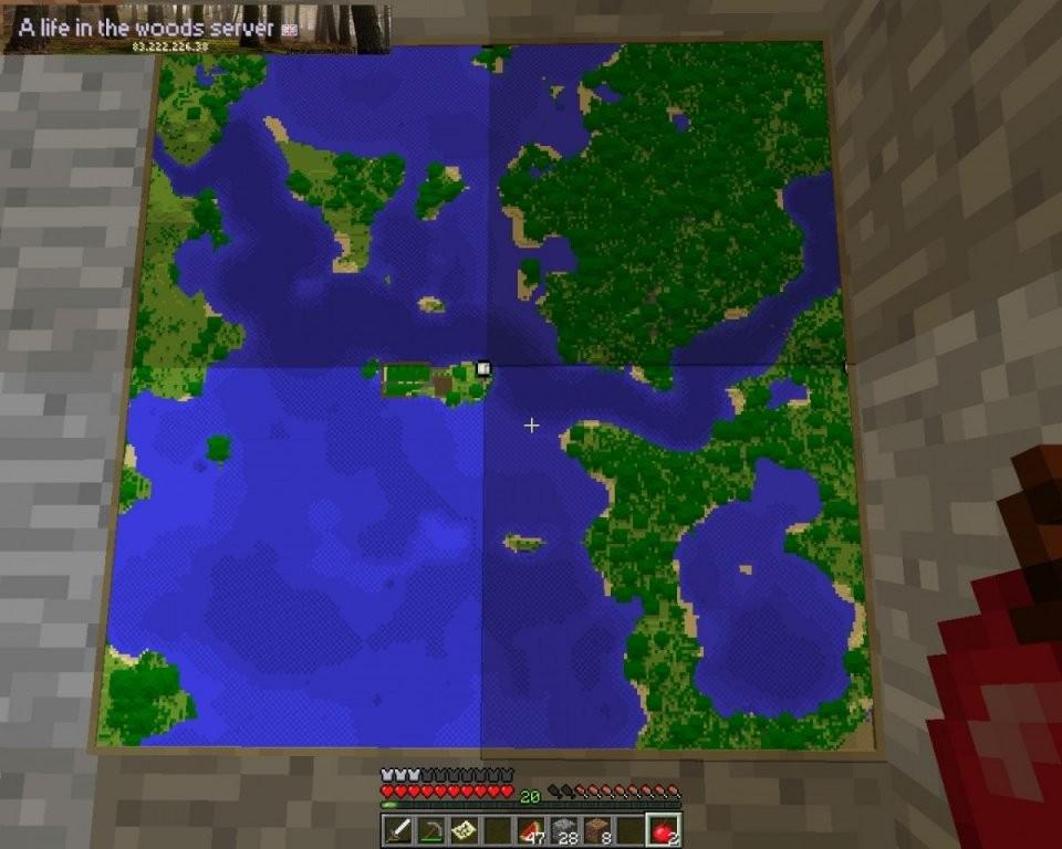 Uk Life In The Woods Minecraft Server von Life In The Woods Minecraft Bild