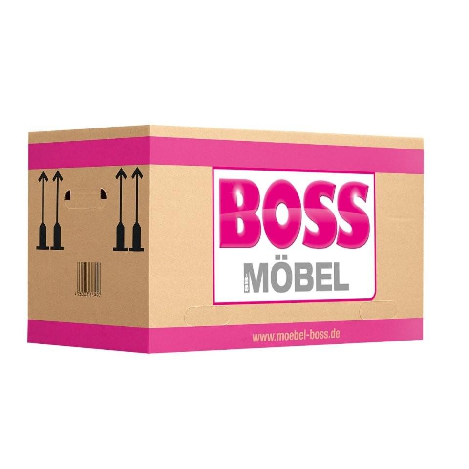 Umzugskarton Größe M Wellkarton Braun Ca 40 X 32 X 33 Cm  Möbel Boss von Möbel Boss Minden Prospekt Bild