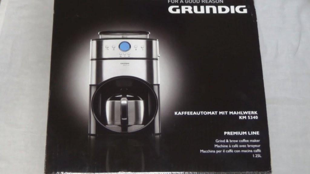 Unboxing ☆ Grundig Km 5340 (Kaffeeautomat Mit Mahlwerk)  Youtube von Grundig Premium Line Kaffeemaschine Bild