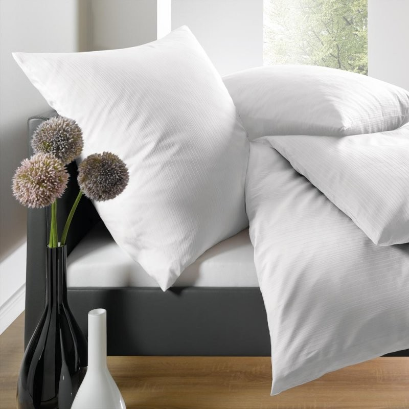 """Uni Mako Satin"""" Elegante Damast Bettwäsche In Baumwolle Verschieden von Glanz Satin Bettwäsche Uni Photo"""