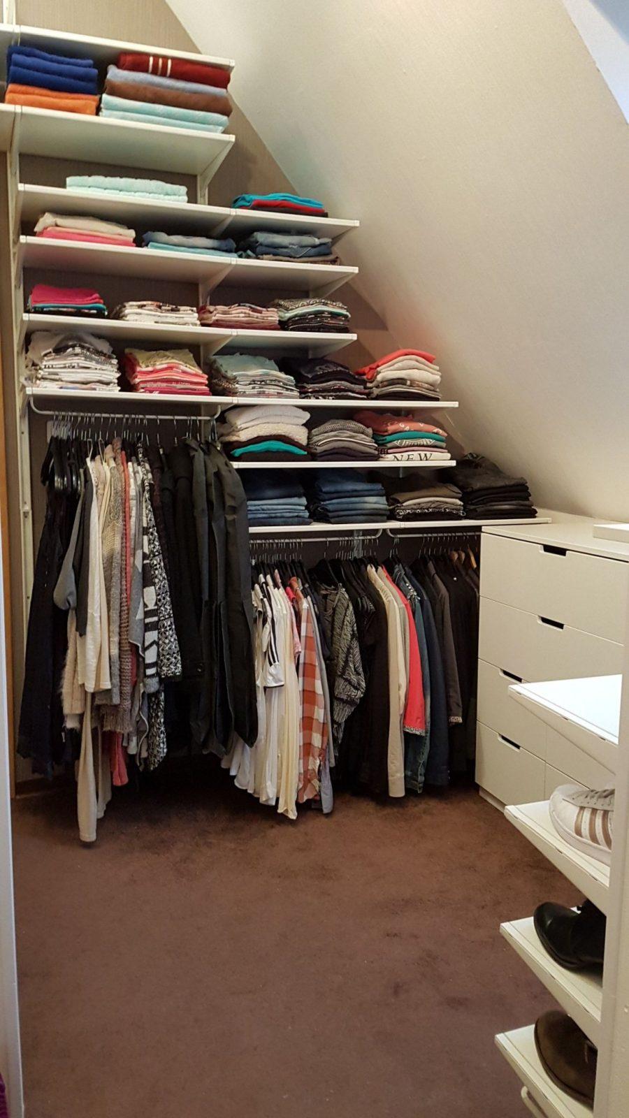 Unser Neues Ankleidezimmer Diy Ikea Selbermachen Regale Schrank von Offenen Kleiderschrank Selber Bauen Photo