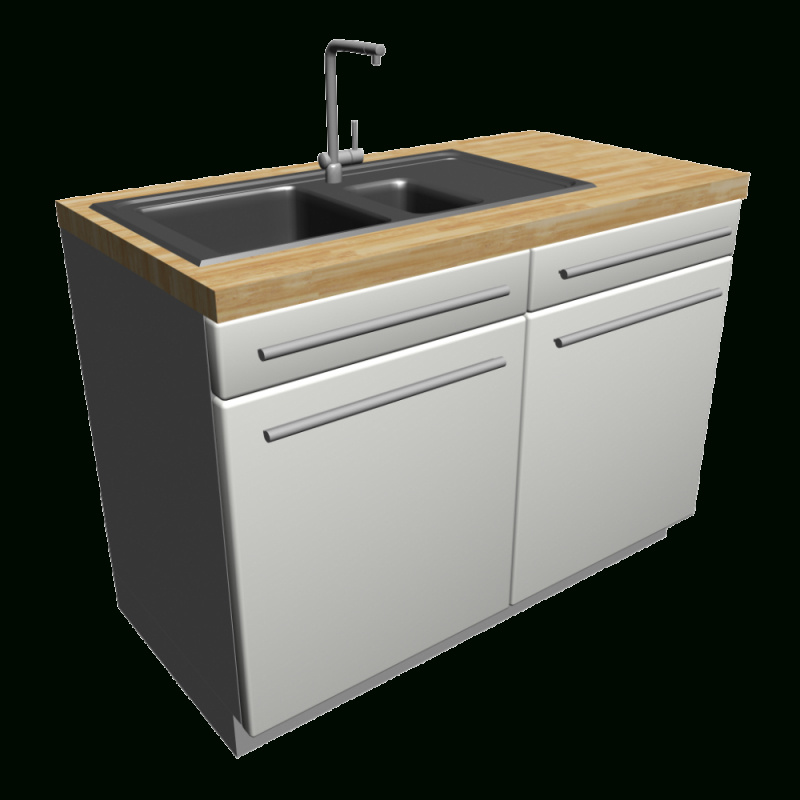 Unterschrank Mit Spülbecken  Einrichten  Planen In 3D von Küchen Unterschrank Mit Spüle Bild