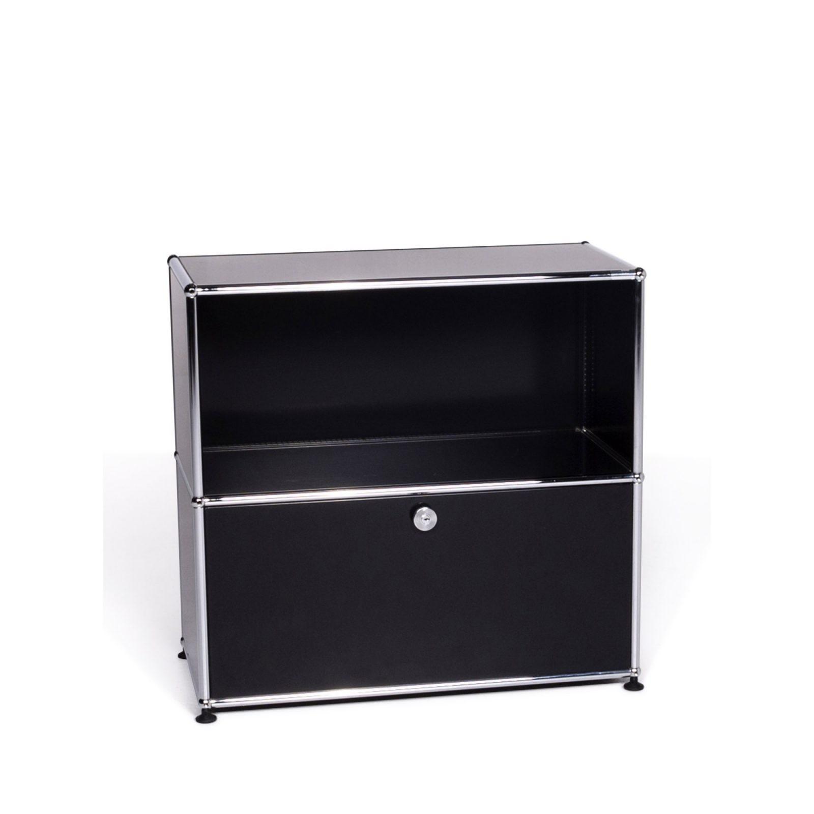 Usm Haller Designer Metall Sideboard Schwarz 9241 • Sofa  Sessel von Usm Haller Gebraucht Kaufen Photo