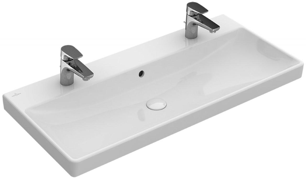 Vb Doppelwaschbecken Avento 4156A101 100 Cm Bei Calmwaters von Doppelwaschtisch Villeroy Und Boch Photo