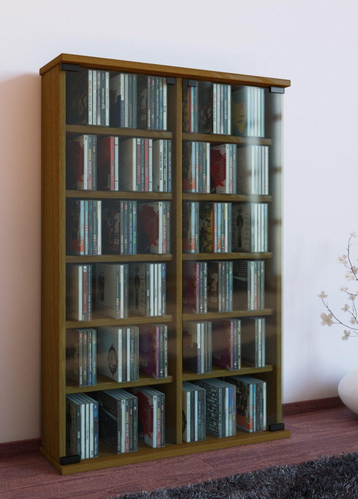 Vcm Cddvd Möbel Roma Eicherustikal  Norma24 von Cd Regal Eiche Rustikal Bild