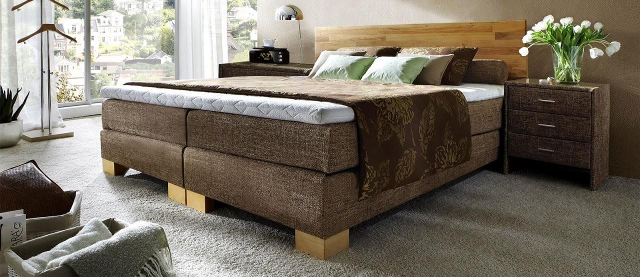Vergleich Von Wasserbett Lattenrost  Matratze Und Boxspringbett von Boxspring Oder Normales Bett Bild