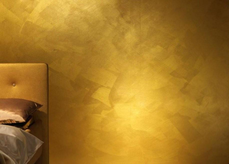Vergolden Oder Capagold In 2019  Elegant Bedroom Accessories von Wandfarbe Gold Farbe Wandgestaltung Bild