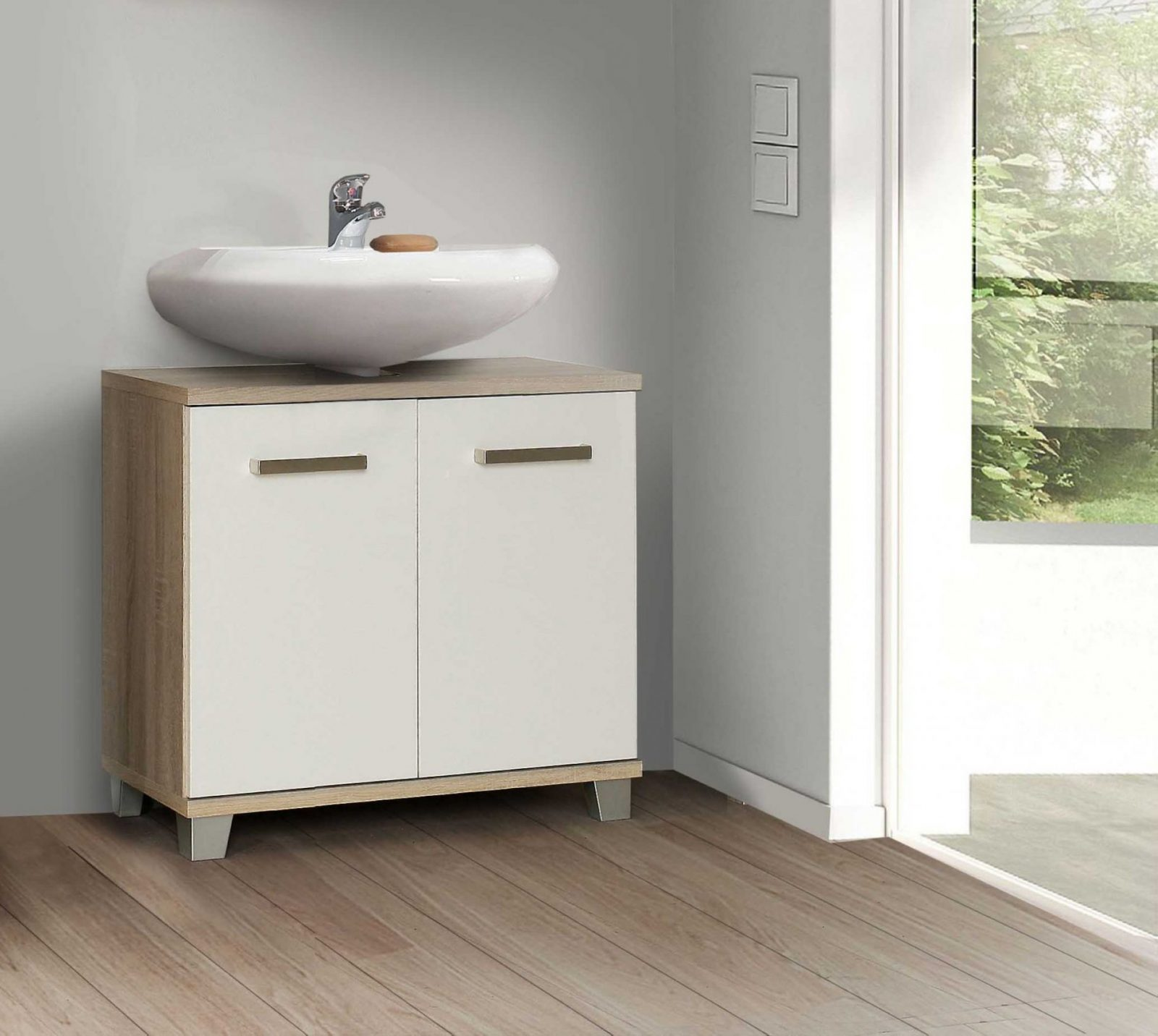 Veris Waschbeckenunterschrank Für Bad von Waschbecken Beige Mit Unterschrank Bild