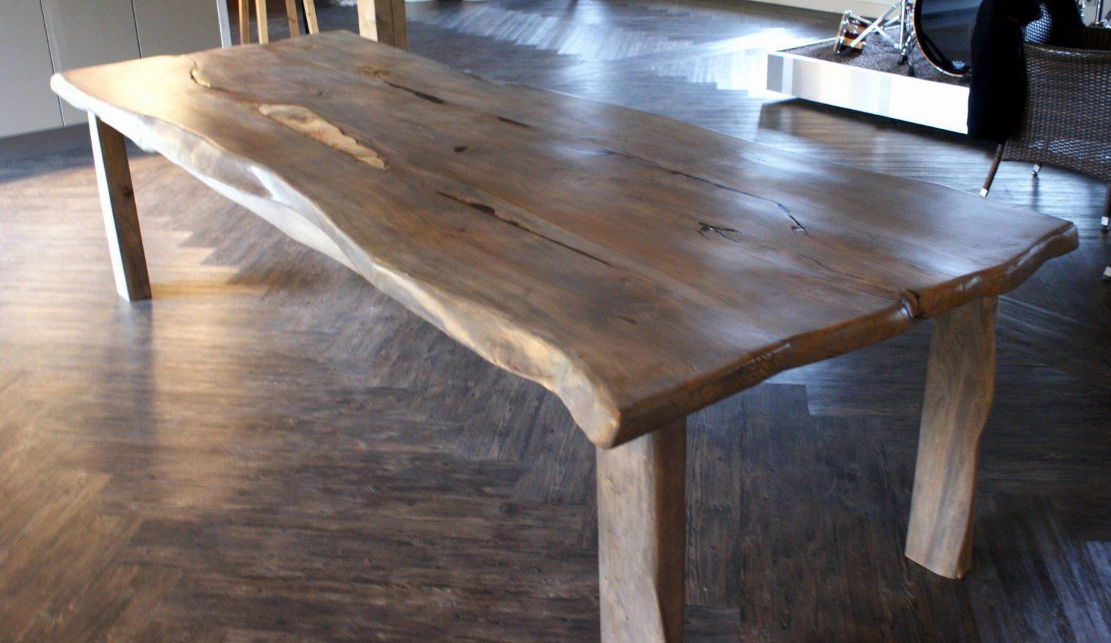 Verkaufsschlager Einen Rustikalen Loft Tisch Selber Bauen So Geht S von Rustikaler Holztisch Selber Bauen Photo