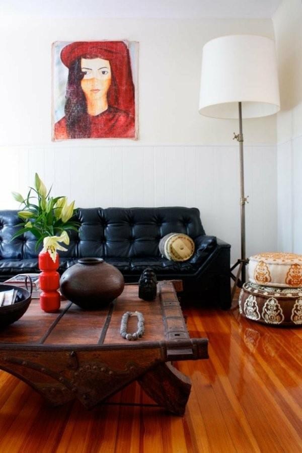 Verschiedene Holzarten Für Möbel Kombinieren  15 Schicke Ideen von Verschiedene Holzarten Im Wohnzimmer Photo