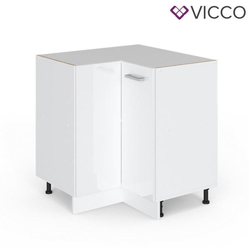 Vicco Eckunterschrank 87 Cm Ohne Arbeitsplatte K  Real von Küchen Unterschrank Ohne Arbeitsplatte Photo