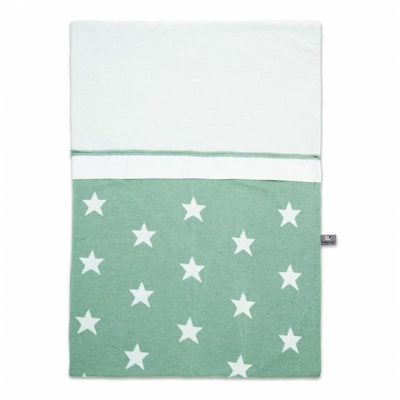 Villasternenstaub  Bettbezug Bettwäsche Sterne Mintweiß 100X135 von Bettwäsche 100X135 Sterne Photo