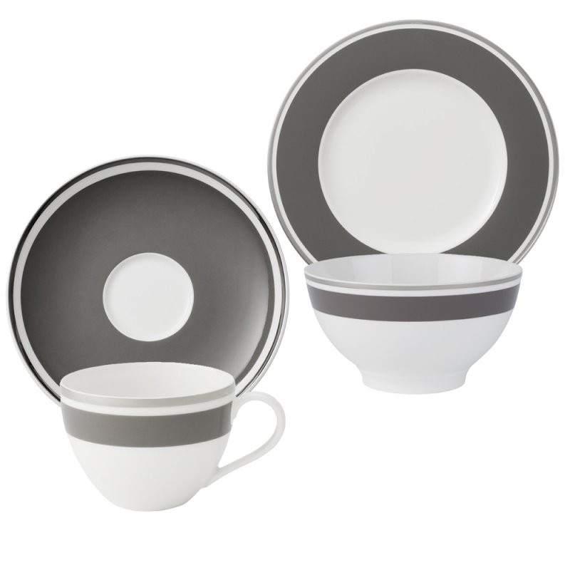 Villeroy  Boch 24Tlg Anmut My Colour Rock Kaffeeservice Geschirr von Kaffeeservice Villeroy & Boch Bild