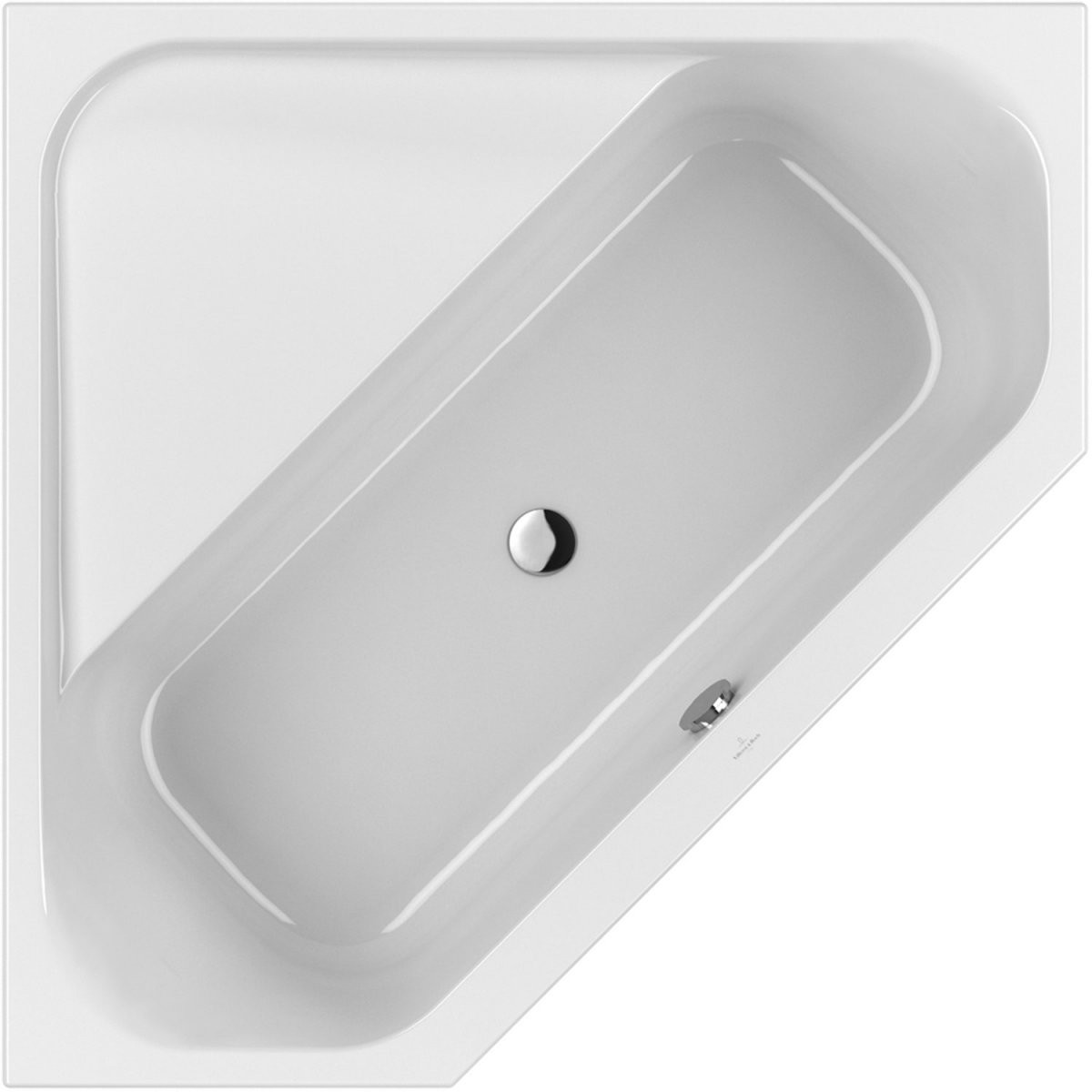 Villeroy  Boch Eckbadewanne Loop  Friends Square 140 Cm X 140 Cm von Loop And Friends Badewanne Photo