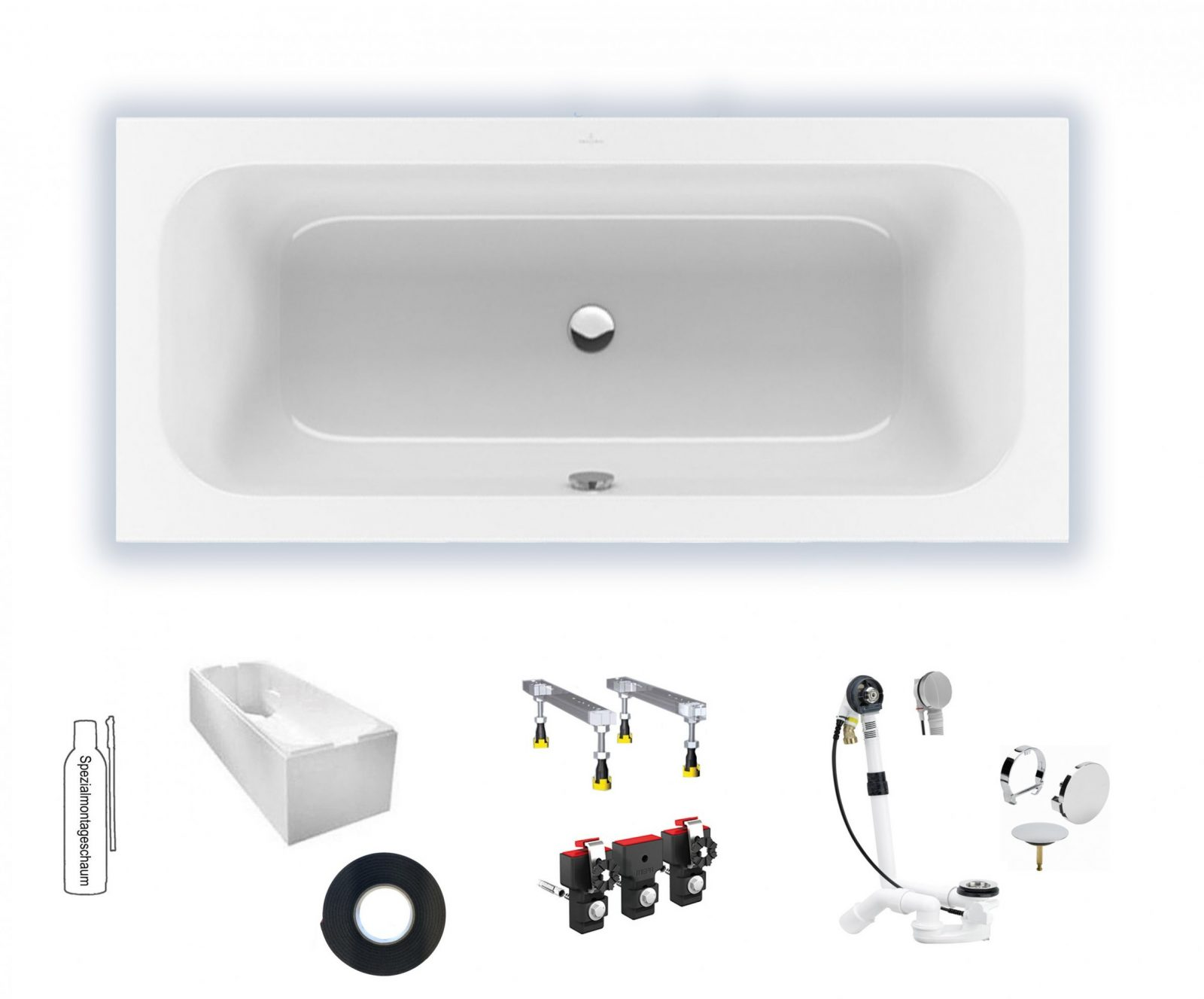 Villeroy  Boch Loop  Friends 1800X800 Duo Badewanne Rechteck von Villeroy Und Boch Loop And Friends Badewanne Photo