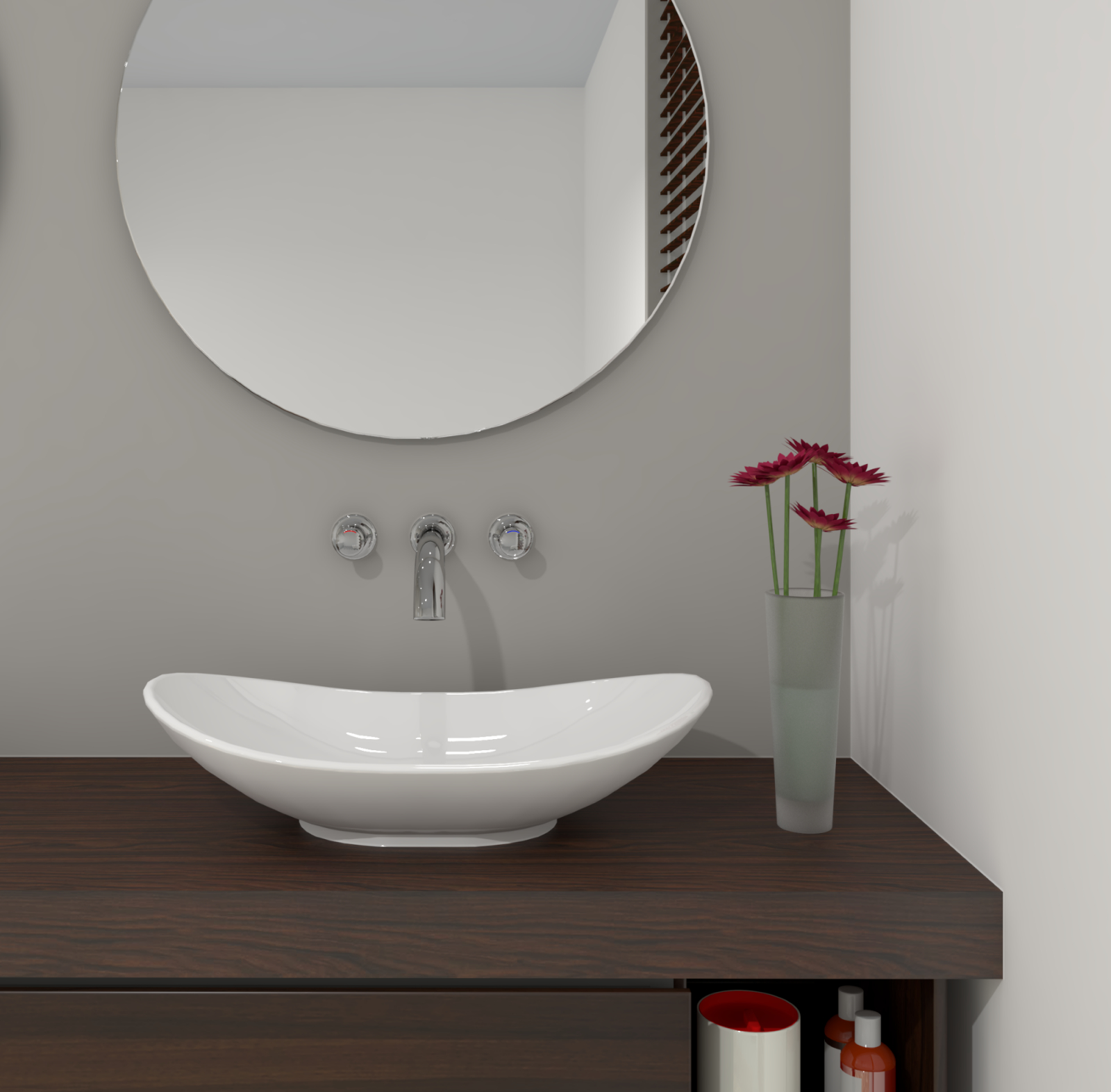 Villeroy  Boch My Nature  Surfacemounted Washbasin 610 X 360 Mm White von Villeroy & Boch My Nature Aufsatzwaschtisch Photo