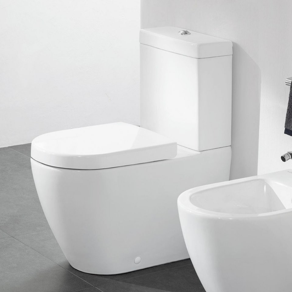Villeroy  Boch Subway 20 Rimless Close Coupled Toilet  Uk Bathrooms von Subway Villeroy Und Boch Wc Photo