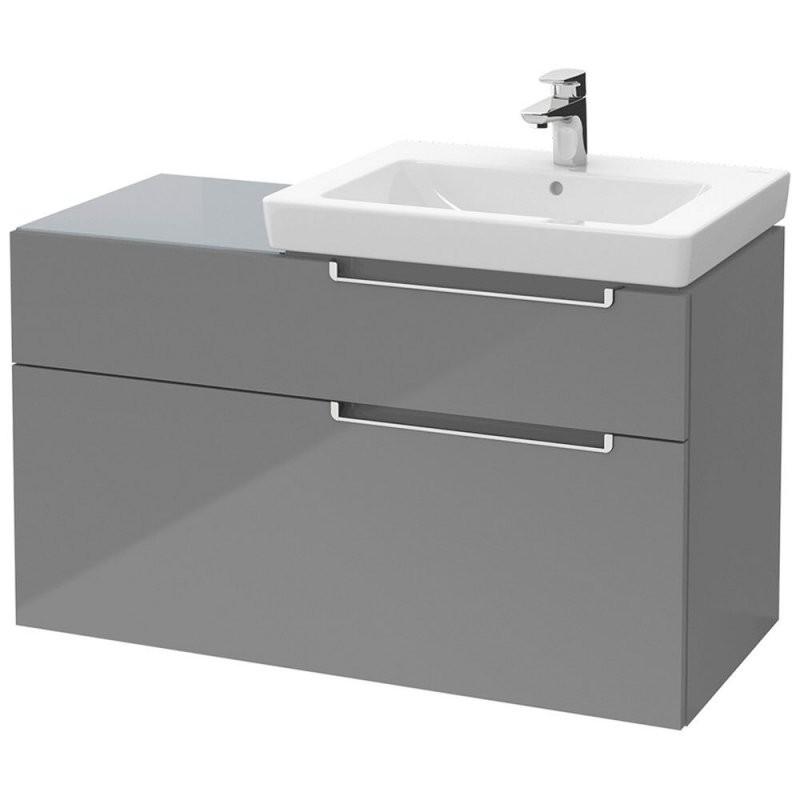 Villeroy  Boch Subway 20 Waschtischunterschrank Xxl Waschtisch 98 von Villeroy Und Boch Waschtisch Mit Unterschrank Bild