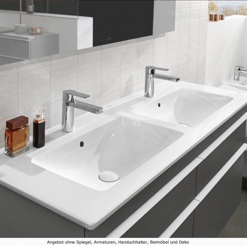 Villeroy  Boch Venticello Badmöbel Als Waschtischset 130 Cm von Doppelwaschtisch Villeroy Und Boch Photo