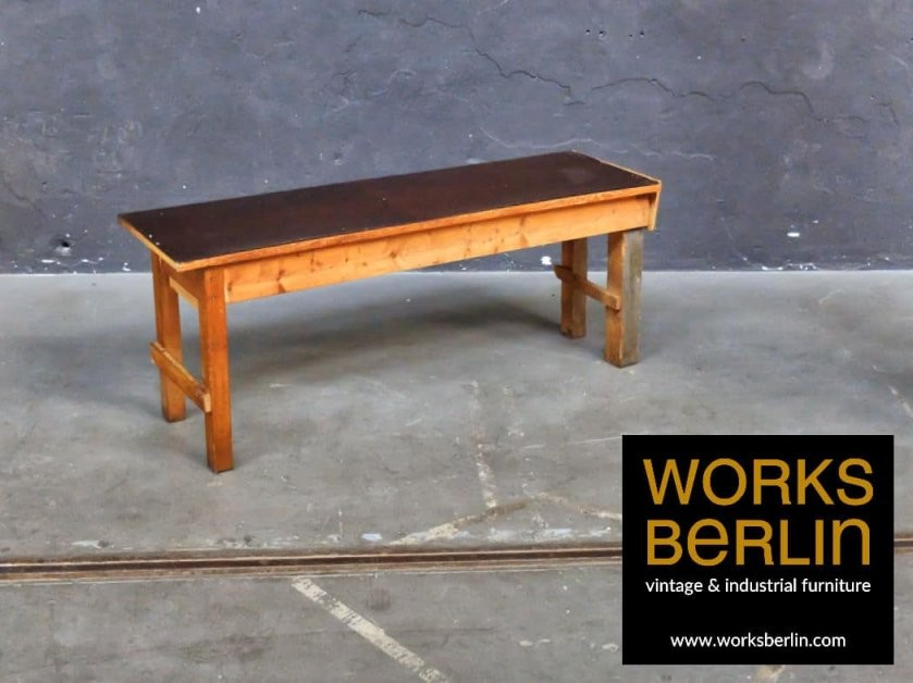 Vintage Werkbank Die Auch Als Sideboard Arbeitstisch Esstisch von Alte Werkbank Als Esstisch Photo
