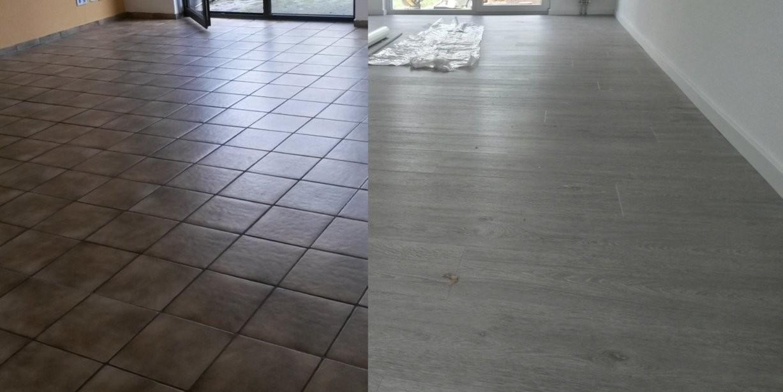 Vinylboden Auf Alten Fliesen Verlegen  Bodengestaltungmarkus von Kann Man Vinylboden Auf Fliesen Verlegen Bild