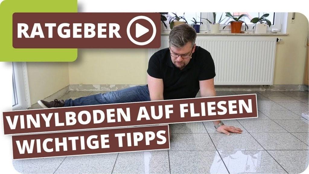 Vinylboden Auf Fliesen Verlegen Wie Breit Und Tief Darf Die Fuge von Vinyl Laminat Selbstklebend Auf Fliesen Verlegen Bild
