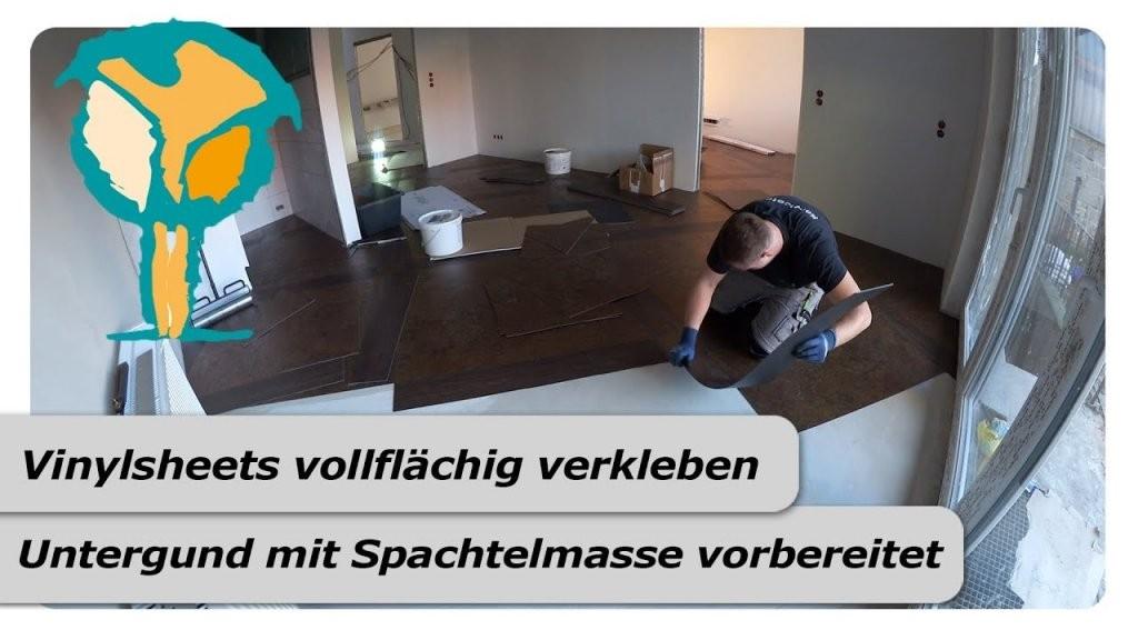 Vinylboden Auf Fliesen Verlegen  Youtube von Kann Man Vinylboden Auf Fliesen Verlegen Photo