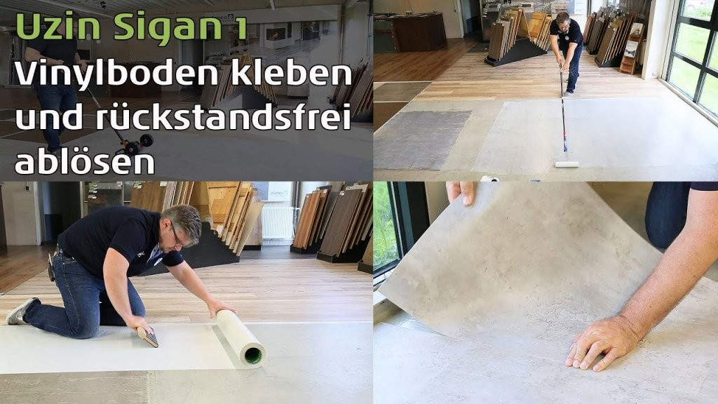 Vinylboden Kleben  Die 4 Arten Klebevinyl Zu Verlegen  Planeo von Vinyl Laminat Selbstklebend Auf Fliesen Verlegen Photo