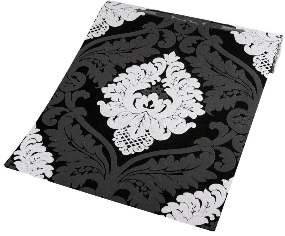 Vliestapete Barock Schwarzweiß ▷ Online Bei Poco Kaufen von Barock Tapete Schwarz Weiß Bild