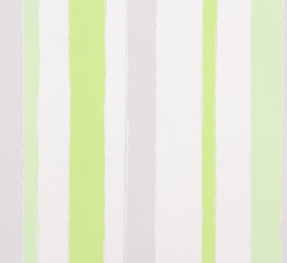 Vliestapete Streifen Weiß Grau Grün Tapeten Marburg Wohnsinn 2017 von Tapete Grün Grau Gestreift Bild