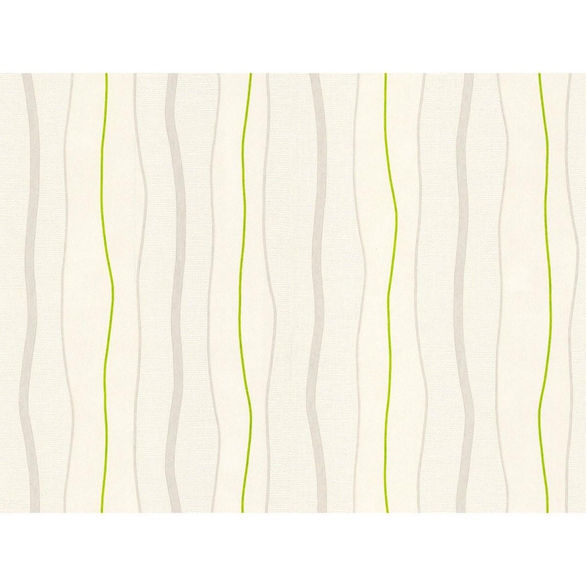 Vliestapeten Streifen Online Kaufen Bei Obi von Tapete Grün Grau Gestreift Bild