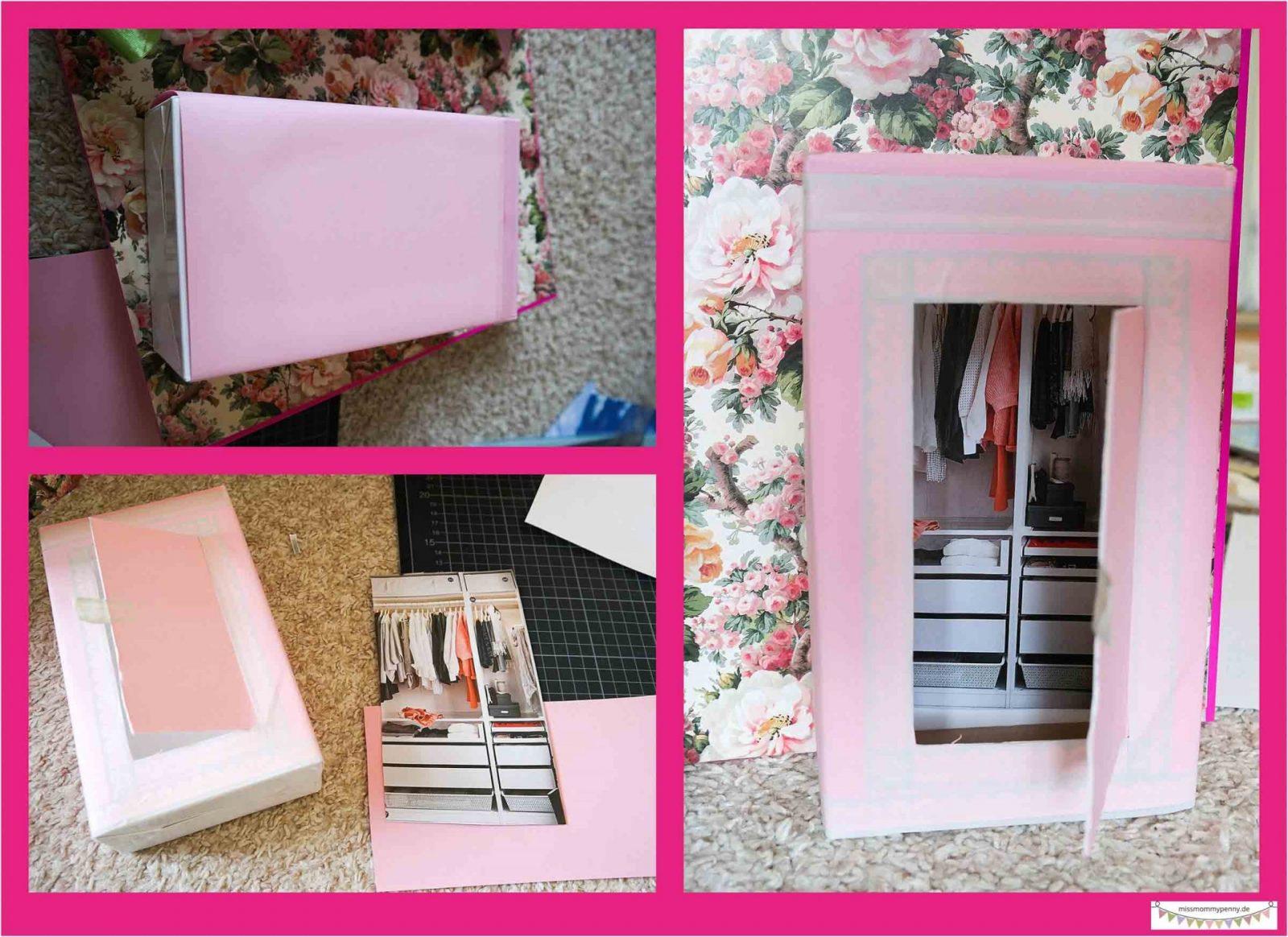 Vom Pappordner Zum Penthouse  Missmommypenny von Barbie Bett Selber Bauen Photo
