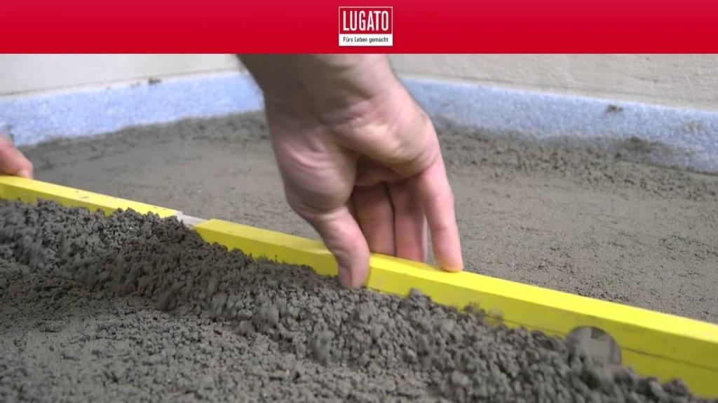 Vorbereitung Des Untergrundes Einer Bodengleichen Dusche Teil 15 von Bodengleiche Dusche Einbauen Estrich Bild