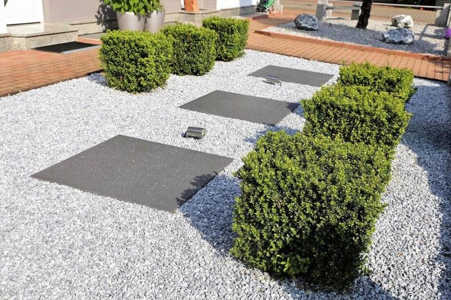 Vorgarten Gestalten  Anlegen  20 Moderne  Pflegeleichte Ideen + von Vorgarten Gestalten Mit Kies Photo