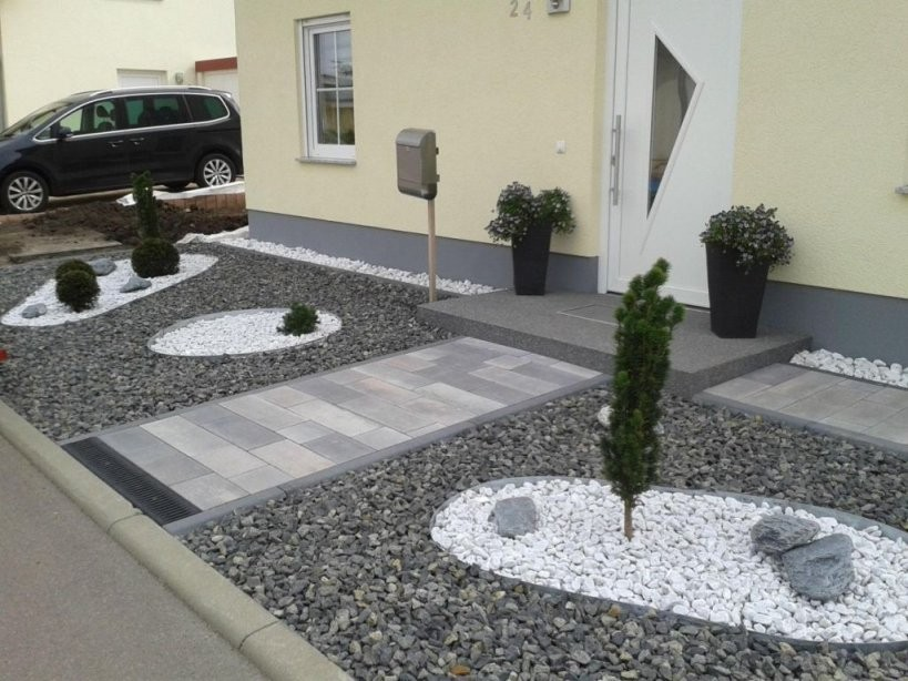 Vorgarten Gestalten Modern Bildergalerie Ideen Ideen von Vorgarten Gestalten Mit Kies Bild