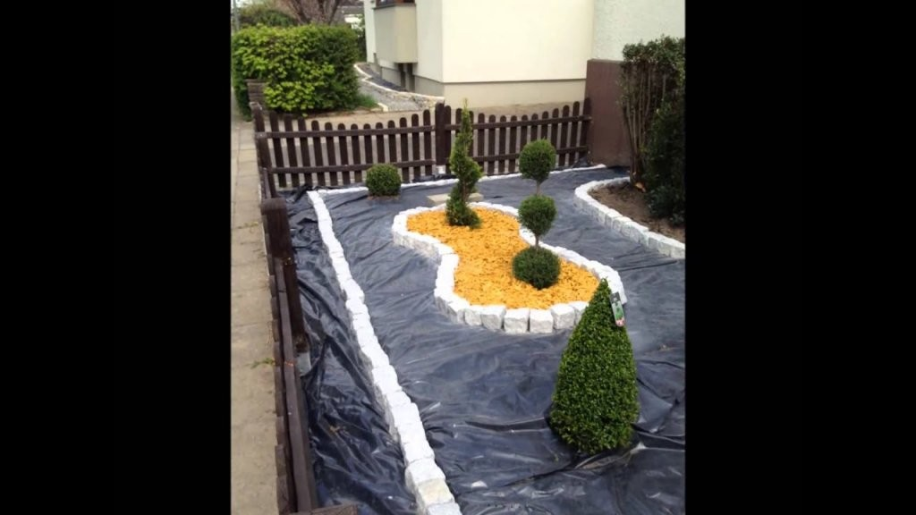 Vorgartengestaltung Mit Kies  15 Vorgarten Ideen von Vorgarten Gestalten Mit Kies Bild