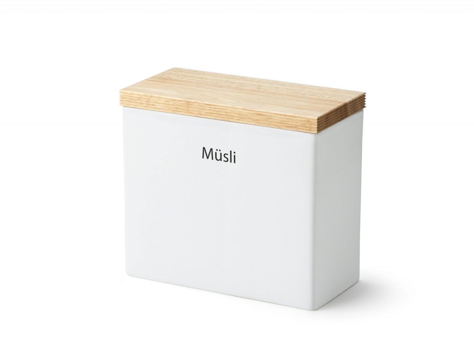Vorratsdose Keramik Für Müsli Holzdeckel Und Silikonring Von Continenta von Vorratsdosen Mehl Zucker Salz Keramik Photo